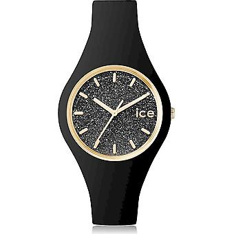 Ice Watch - Armbanduhr - Unisex - ICE glitter - Black - Small - 3H - 001349