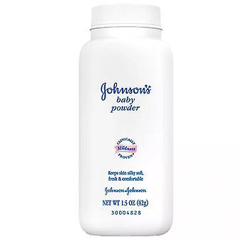 Johnson's baby powder, 1.5 oz, 12 ea