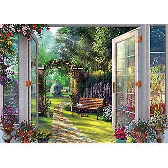 Schmidt Dominic Davison vista al giardino incantato di Jigsaw Puzzle (1000 pezzi)