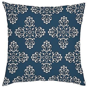 Gardenista Koristeellinen puutarhatyynynpäällinen 45x45 cm | Marrakech Design Sininen | Pehmeä vesi - kestävä kangas kestävyys | Vedenpitävä ulkouima tyynynpäälliset | Marokon kokoelma Gardens