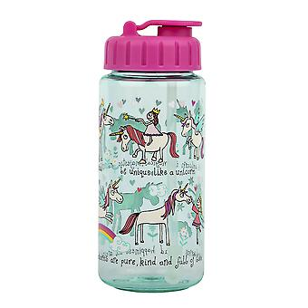 Tyrrell Katz Unicorns  Drinking Bottle With Straw