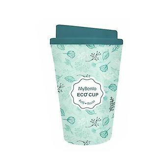 Summit MyBento Double Wall Plastic Mug Coffee Tea Travel Outdoor - Green
