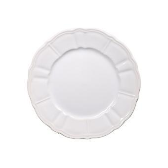 Piatti Kearna Colore Bianco in Stoneware, L26xP26 cm