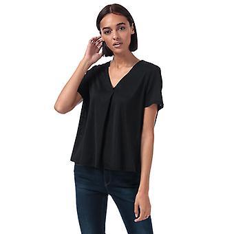 Women's Vero Moda Cira V-Neck Top en noir