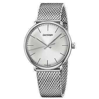 Calvin Klein K8M21126 High Noon Quartz Silver Dial Men's Watch