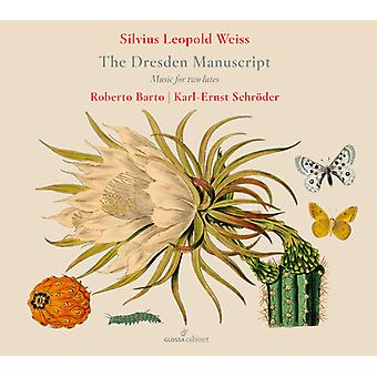 Dresden Manuscript / Works For Two Lutes [CD] USA import