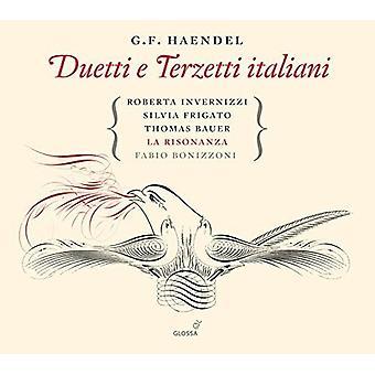 Handel / Invernizzi / Frigato / Adam / Bauer - Duetti E Terzetti Italiani [CD] USA import
