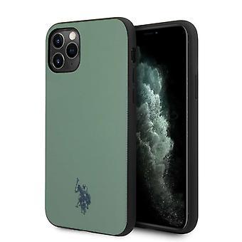 U.S. Polo Wrapped Backcase Hoesje iPhone 11 Pro - Zwart