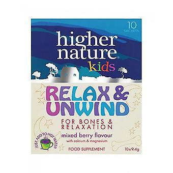 Higher Nature Relax & Unwind for Kids Sachets 10 (KRU010)