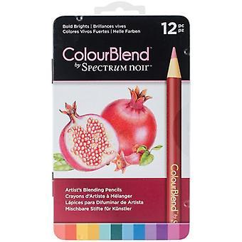 Spectrum Noir Spectrum Colourblend Pencils Bold Brights (12pc) (SPECCB-BOLD12)