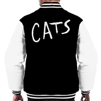 Cats Text Logo Men's Varsity Jacket