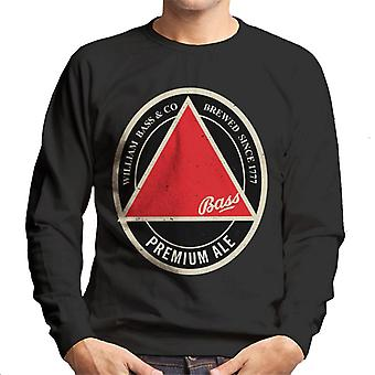 Bass Red Triangle Label Homme-apos;s Sweatshirt
