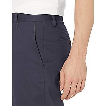Goodthreads Män & apos, s Athletic-Fit Skrynkla fri klänning Chino Pant, Navy 35W x 32L