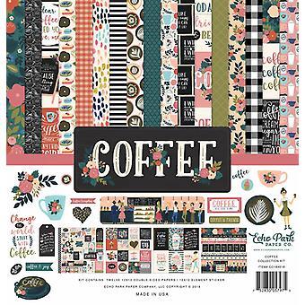 Echo Park Coffee 12x12 Inch Collectie Kit