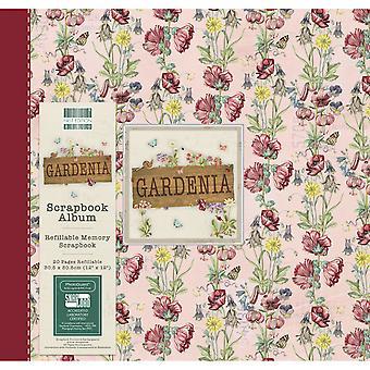 Primera Edición Gardenia 12x12 pulgadas álbum Floral