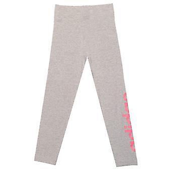Girl's adidas Infant Essentials Linear Leggings in Grey