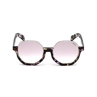 Emilio Pucci - Accessoires - Zonnebrillen - EP0089_55Z - Dames - zadelbruin,violet