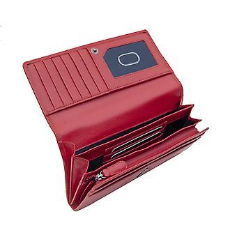 Primehide Womens Leather Matinee Purse RFID Blocking Card Holder Wallet 2314
