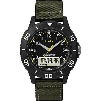 TW4B16600, Expedition Katmai Expedition Mens Watch / Noir