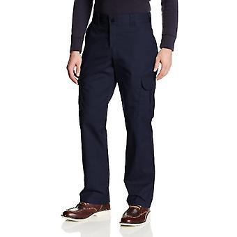 Dickies Men's Regular Straight Stretch Twill Cargo Pant, Dark Navy, 30x30
