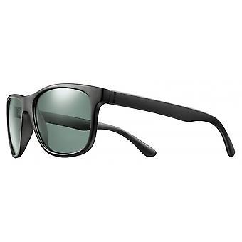Sunglasses Unisex Cat.3 matt black/green (JSL10690147)
