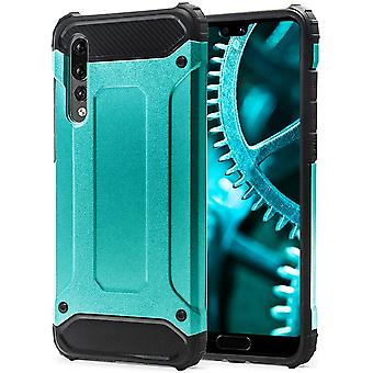 Shell for Huawei P20 Pro Cyan Armor Protection Case Hard