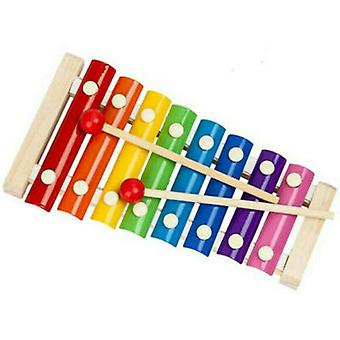Imitat Music Instrument Toy Wooden Frame Xylophone Children Kids Toys Baby Educational Toys Gifts With 2 Mallets