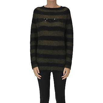 Ermanno Scervino Ezgl078065 Women's Green Wool Sweater