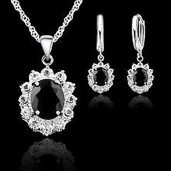 Jewelry Sets - Serling  Necklace, Pendants And Earring