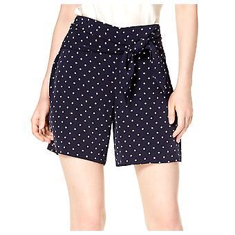 Bar III | midnatt prikker polka dot tie midje shorts