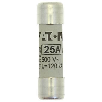 Bussmann C10G25 25A GG 500Vac 10x38mm Cylindrical Fuse