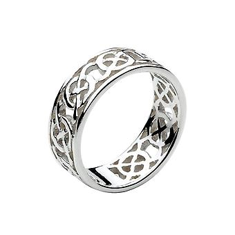 Heritage Celtic Open Knotwork Kantad Ring 2285HP