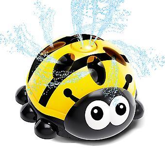 Children's banyo karikatür oyuncaklar, banyo su ile oynamak ve dönen su sprey oyuncaklar