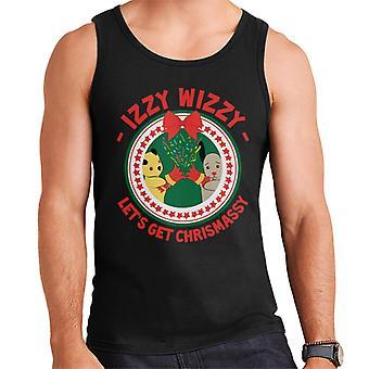 Sooty Christmas Lets Get Chrismassy Men's Vest