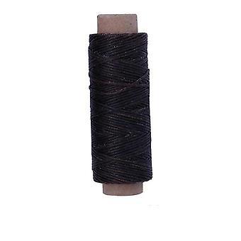Cordón de hilo encerado de cuero duradero para la costura artesanal diy y coser