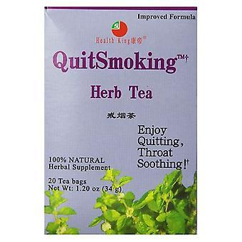 Health King Stop Smoking Tea, 20 Bags