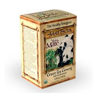 The Mate Factor Green Tea Ginseng, 20 Bag