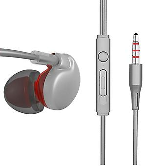AUGIENB X7 HiFi 3.5mm Wired Control Earphone Stereo Bass Sports Headphone