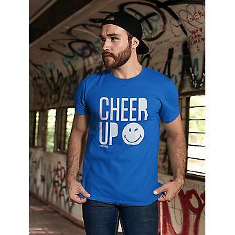 SmileyWorld Cheer Up Wink Face Men's T-shirt