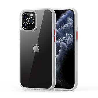 iPhone 12 Pro Max mål Transparent Vit - Haj