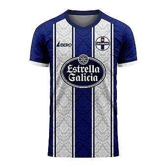 Deportivo La Coruna 2020-2021 Home Concept Football Kit (Libero) - Adult Long Sleeve