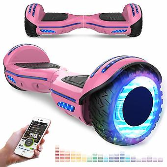 Right Choice Hoverboard mit RGB LED Auf Rädern - LED DekorativeZelt - Bluetooth Lautsprecher - Segway Modell E9
