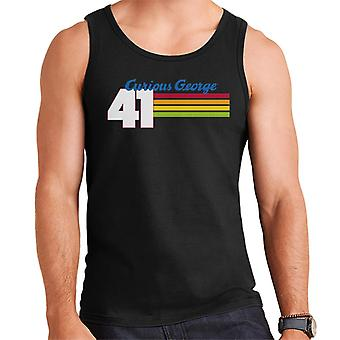 Curieux George 41 Race Stripes Men's Vest