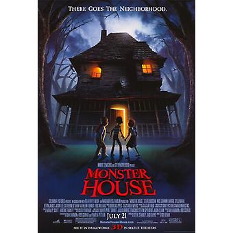 Monster House Movie Poster Print (27 x 40)