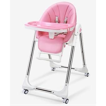 Newborn Baby Chair Portable Seat Adjustable Folding Dining High Chair, Baby