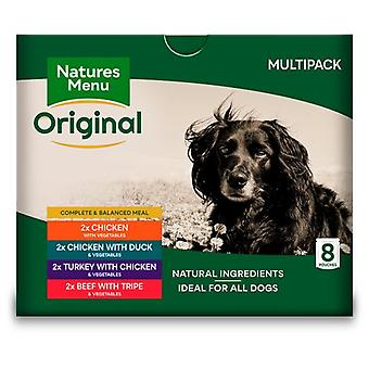 Natures Menu Dog Pouch Multipack 8 X 300 gr (Dogs , Dog Food , Wet Food)