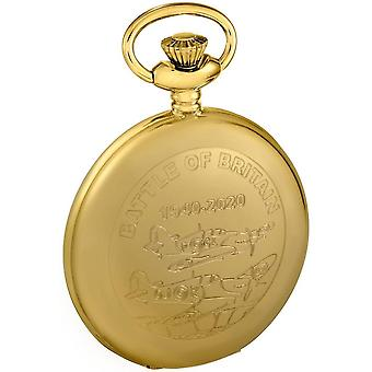 Woodford Battle of Britain Pocket Watch - Gold