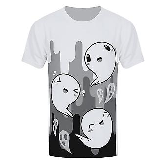 Grindstore Herren Happy Spooks T-Shirt