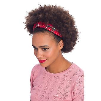 Banned Cameron Headband Red