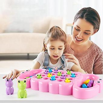 Baby Catch Frog And Greedy Beans - Early Teach Fun Puzzle Interactive Table